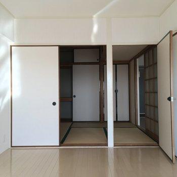 洋室側からの和室