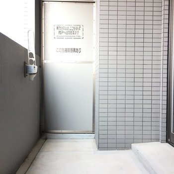 ベランダ広め!洗濯物干しやすいから嬉しい。※写真は11階の同間取り別部屋のものです