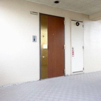 廊下も清潔なのです。