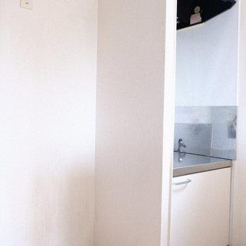 冷蔵庫スペースもしっかり○