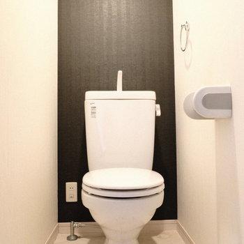 トイレは個室◎