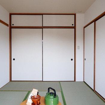 【和室】スッキリさせておきたいな。※家具はサンプルです