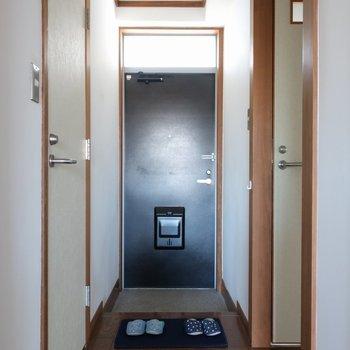 玄関はゆったりとしています。※写真は前回募集時のものです