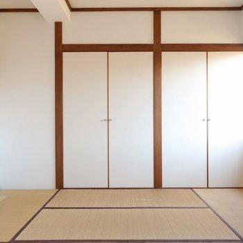 【和室】寝室にしようか、リビングっぽく使おうか。※写真は前回募集時のものです