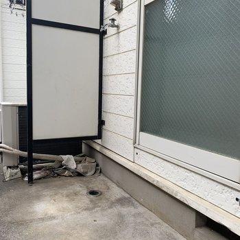 洗濯機置場はこちらです