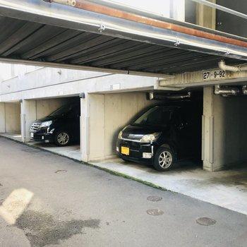 駐車場もしっかりと!