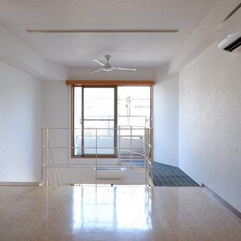 2階にも窓がありたっぷり光を取り込みます。※写真は1階の同間取り別部屋のものです。