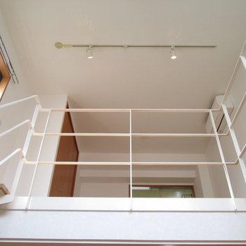 【1F】上の階も見渡せますね〜
