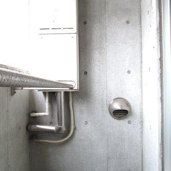 バルコニーでお洗濯物を◯※写真は2階の同間取り別部屋のものです。
