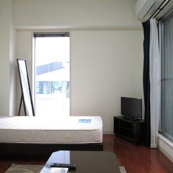 家具家電付きのお部屋です◯※写真は2階の同間取り別部屋のものです。