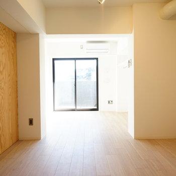11.5帖の広いワンルーム!※写真は3階の同間取り別部屋のものです