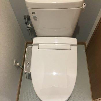 トイレにはウォシュレット