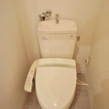 トイレもまだまだ綺麗です。
