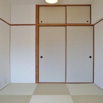 琉球畳で和モダンな雰囲気◎