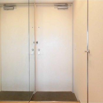 目の錯覚になりそう!※写真は5階の同間取り別部屋のものです。