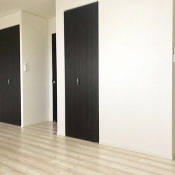 ドアが2つ。使い勝手◎
