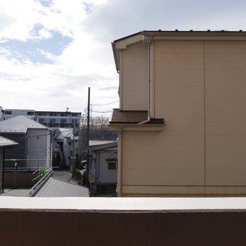 窓からの景色も、抜けていいですね
