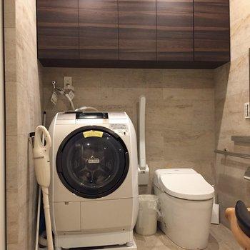 ドラム式洗濯機つき!