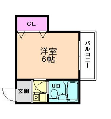トヨノ第5マンション の間取り