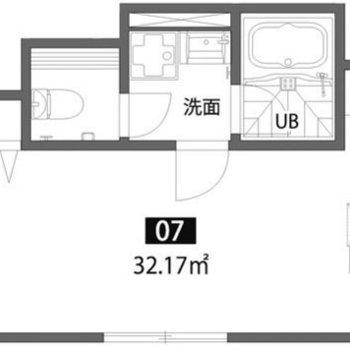 お部屋は広いんです。