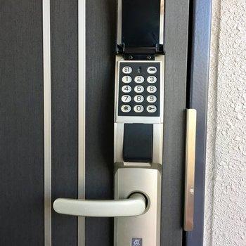 鍵を無くす心配のない安心のデジタル・キー