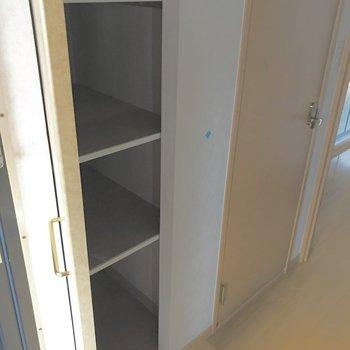 収納は沢山入りますよ♪※写真は5階の同間取り別部屋のものです