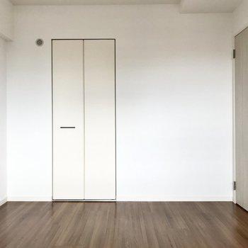 扉の奥はクローゼット。あまり期待できないかな・・・と思いきや、
