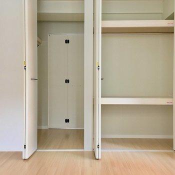 ほら反対側からもいけちゃいます。※写真は2階の同間取り別部屋、モデルルームのものです