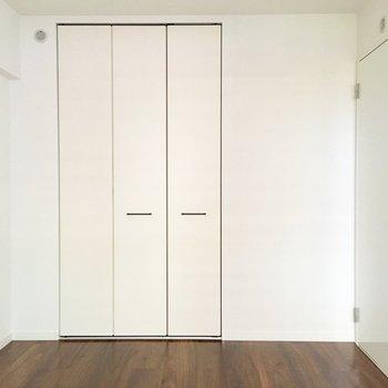 各お部屋にしっかり収納スペース完備!※写真は2階の同間取り別部屋のものです