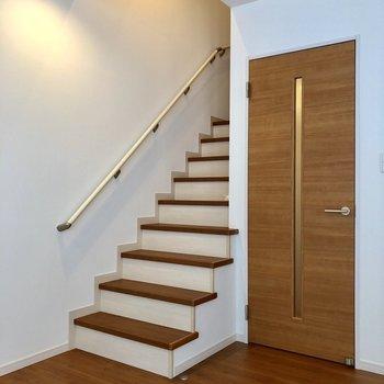 さて、2階へ。
