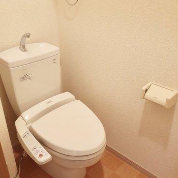 トイレも設備しっかり◎