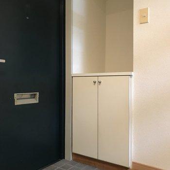 シンプルめな玄関です。※写真は2階の反転間取り別部屋のものです