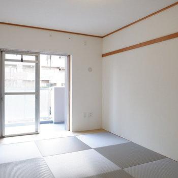 清潔感のある和室です。