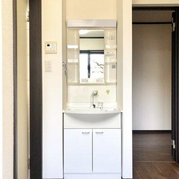 【専有部/102号室】なんと、独立洗面台がお部屋の中に!