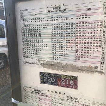 バスの本数多いですよ!※2018年12月27日時点の情報です