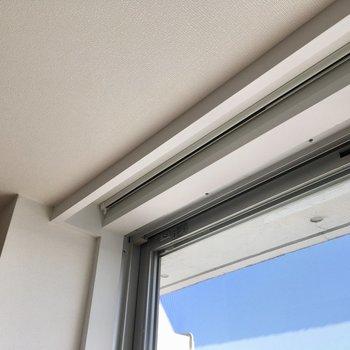 窓の木枠が白くてかわいかったです。