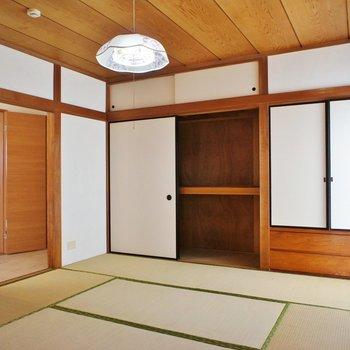 リビング隣の和室。こっちは客間として。※写真は前回募集時のものです