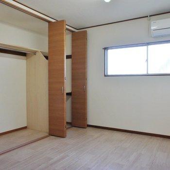 一番奥の洋室。収納部屋としてどうでしょう。※写真は前回募集時のものです