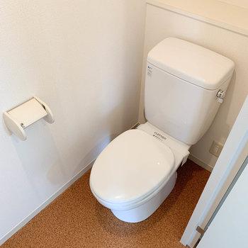 トイレもこんまり綺麗な空間。