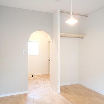 ナチュラルな雰囲気が可愛い※前回、工事したお部屋です。今回はアーチではありません。