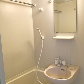 浴室乾燥もできますよ。