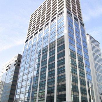 オフィスや店舗が入る建物です。