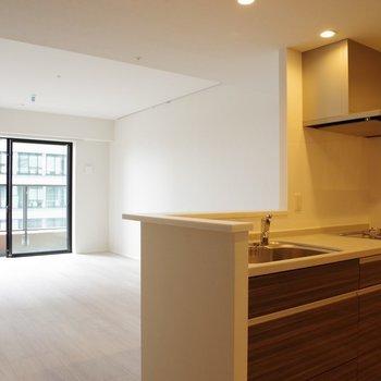 【LD】キッチン横から