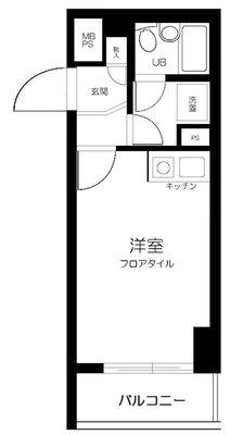 ライオンズマンション武蔵新城第5 の間取り
