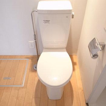 雰囲気のあるおトイレ。※写真は前回募集時のものです