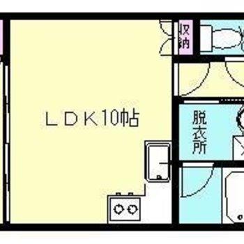 この広さでペット可でこのお家賃!