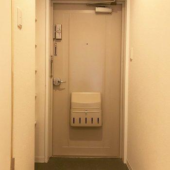 玄関はちょっとゆとりがありますね