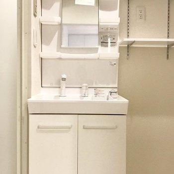 洗面台はスタンダードかな?