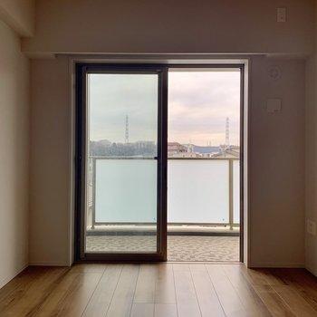 【6.6帖】こちらのお部屋は廊下からアクセス。※写真は7階の同間取り別部屋のものです
