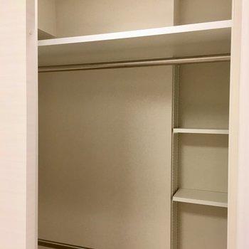 ウォークインクローゼットでした〜※写真は5階の同間取り別部屋・前回募集時のものです